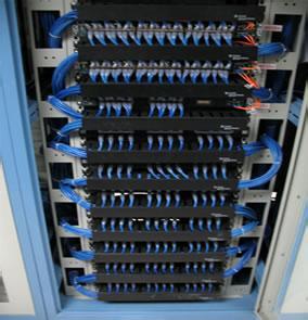 计算机网络布线机柜标准化