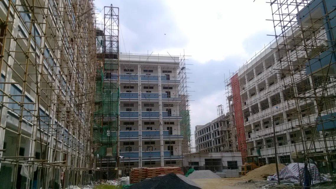 玉林玉柴教育学院监控系统广播系统校园局域网搭建2